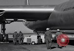 Image of pre-flight inspection of Convair B-36 and crew Fort Worth Texas USA, 1951, second 58 stock footage video 65675032420
