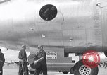 Image of Unloading materiel from a B-36 Roswell New Mexico USA, 1953, second 12 stock footage video 65675032428