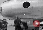 Image of Unloading materiel from a B-36 Roswell New Mexico USA, 1953, second 15 stock footage video 65675032428