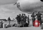 Image of Unloading materiel from a B-36 Roswell New Mexico USA, 1953, second 17 stock footage video 65675032428
