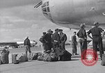 Image of Unloading materiel from a B-36 Roswell New Mexico USA, 1953, second 18 stock footage video 65675032428