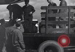 Image of Unloading materiel from a B-36 Roswell New Mexico USA, 1953, second 24 stock footage video 65675032428