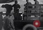 Image of Unloading materiel from a B-36 Roswell New Mexico USA, 1953, second 25 stock footage video 65675032428