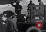 Image of Unloading materiel from a B-36 Roswell New Mexico USA, 1953, second 26 stock footage video 65675032428