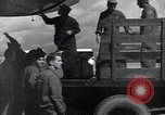 Image of Unloading materiel from a B-36 Roswell New Mexico USA, 1953, second 27 stock footage video 65675032428