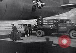 Image of Unloading materiel from a B-36 Roswell New Mexico USA, 1953, second 31 stock footage video 65675032428