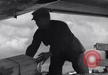 Image of Unloading materiel from a B-36 Roswell New Mexico USA, 1953, second 43 stock footage video 65675032428