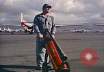 Image of Fire guard for aircraft engine start Honolulu Hawaii USA, 1959, second 11 stock footage video 65675032481