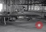 Image of U-2 reconnaissance aircraft Del Rio Texas Laughlin Air Force Base USA, 1962, second 57 stock footage video 65675032491