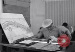 Image of photo intelligence officers Omaha Nebraska Offutt Air Force Base USA, 1962, second 42 stock footage video 65675032498