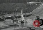 Image of slow motion A-4 Missile launch Peenemunde Rocket Centre Ostvorpommern Germany, 1942, second 4 stock footage video 65675032508
