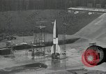 Image of slow motion A-4 Missile launch Peenemunde Rocket Centre Ostvorpommern Germany, 1942, second 5 stock footage video 65675032508