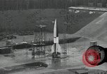 Image of slow motion A-4 Missile launch Peenemunde Rocket Centre Ostvorpommern Germany, 1942, second 6 stock footage video 65675032508