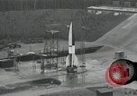 Image of slow motion A-4 Missile launch Peenemunde Rocket Centre Ostvorpommern Germany, 1942, second 9 stock footage video 65675032508