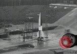Image of slow motion A-4 Missile launch Peenemunde Rocket Centre Ostvorpommern Germany, 1942, second 11 stock footage video 65675032508