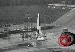 Image of slow motion A-4 Missile launch Peenemunde Rocket Centre Ostvorpommern Germany, 1942, second 15 stock footage video 65675032508