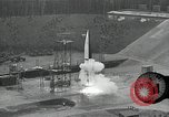 Image of slow motion A-4 Missile launch Peenemunde Rocket Centre Ostvorpommern Germany, 1942, second 21 stock footage video 65675032508