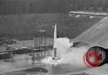 Image of slow motion A-4 Missile launch Peenemunde Rocket Centre Ostvorpommern Germany, 1942, second 26 stock footage video 65675032508