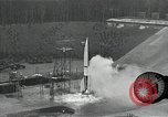 Image of slow motion A-4 Missile launch Peenemunde Rocket Centre Ostvorpommern Germany, 1942, second 28 stock footage video 65675032508