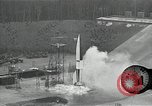 Image of slow motion A-4 Missile launch Peenemunde Rocket Centre Ostvorpommern Germany, 1942, second 30 stock footage video 65675032508