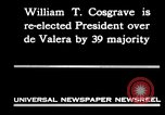 Image of William T Cosgrave Ireland, 1930, second 5 stock footage video 65675032517
