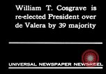 Image of William T Cosgrave Ireland, 1930, second 6 stock footage video 65675032517