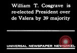 Image of William T Cosgrave Ireland, 1930, second 10 stock footage video 65675032517