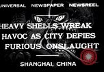 Image of Japanese bombing of Shanghai Shanghai China, 1932, second 1 stock footage video 65675032521