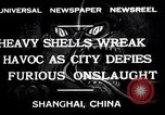 Image of Japanese bombing of Shanghai Shanghai China, 1932, second 3 stock footage video 65675032521