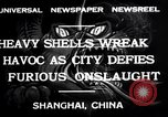 Image of Japanese bombing of Shanghai Shanghai China, 1932, second 7 stock footage video 65675032521