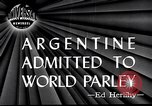 Image of Argentina invited to join United Nations San Francisco California USA, 1945, second 2 stock footage video 65675032526