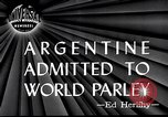 Image of Argentina invited to join United Nations San Francisco California USA, 1945, second 3 stock footage video 65675032526