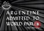 Image of Argentina invited to join United Nations San Francisco California USA, 1945, second 4 stock footage video 65675032526