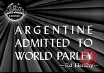 Image of Argentina invited to join United Nations San Francisco California USA, 1945, second 5 stock footage video 65675032526