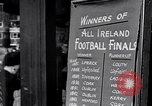 Image of People and lifestyle of Dublin Ireland Ireland, 1946, second 49 stock footage video 65675032533