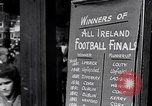 Image of People and lifestyle of Dublin Ireland Ireland, 1946, second 50 stock footage video 65675032533