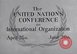 Image of United Nations Conference on International Organization San Francisco California USA, 1945, second 28 stock footage video 65675032536