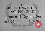 Image of United Nations Conference on International Organization San Francisco California USA, 1945, second 32 stock footage video 65675032536