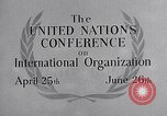 Image of United Nations Conference on International Organization San Francisco California USA, 1945, second 34 stock footage video 65675032536