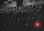 Image of United Nations delegates watch German surrender film San Francisco California USA, 1945, second 7 stock footage video 65675032538