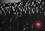Image of United Nations delegates watch German surrender film San Francisco California USA, 1945, second 14 stock footage video 65675032538