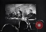 Image of United Nations delegates watch German surrender film San Francisco California USA, 1945, second 16 stock footage video 65675032538