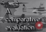Image of Comparison of normal takeoff distances Florida USA, 1951, second 28 stock footage video 65675032546