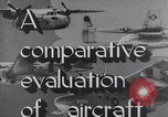 Image of Comparison of normal takeoff distances Florida USA, 1951, second 29 stock footage video 65675032546