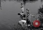 Image of displaced Russians Grimma Germany, 1945, second 24 stock footage video 65675032576