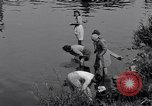 Image of displaced Russians Grimma Germany, 1945, second 25 stock footage video 65675032576