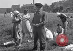 Image of displaced Russians Grimma Germany, 1945, second 32 stock footage video 65675032576