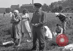 Image of displaced Russians Grimma Germany, 1945, second 33 stock footage video 65675032576
