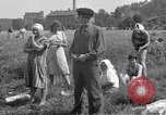 Image of displaced Russians Grimma Germany, 1945, second 34 stock footage video 65675032576