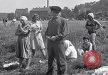 Image of displaced Russians Grimma Germany, 1945, second 35 stock footage video 65675032576